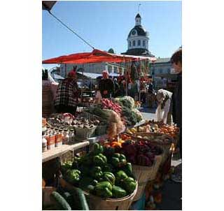 Farmer's Market in Kingston, Ontario